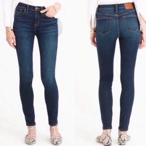 J. Crew Lookout High Rise Skinny Jeans Sz 25